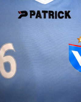 VIKTORIA BERLIN Home Football Shirt S Small Blue Patrick Germany #6