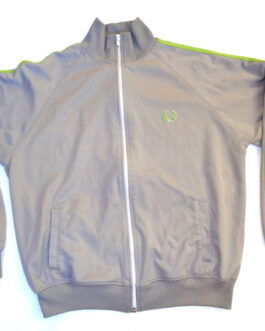 FRED PERRY Tracksuit Vintage Track Jacket Casual Classic Grey Size M Medium