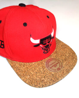 CHICAGO BULLS Vintage Mitchell & Ness Snapback Cap NBA Basketball
