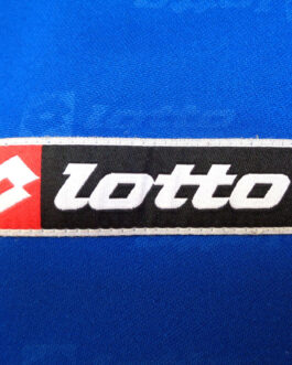 LOTTO Polo Training Vintage Football Shirt Casual Classic Blue XL Extra Large
