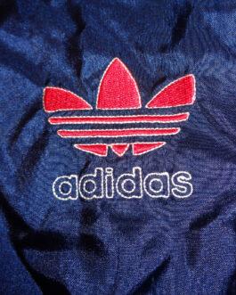 ADIDAS 80s 90s Tracksuit Retro Vintage Track Jacket Casual Classic Red M Medium