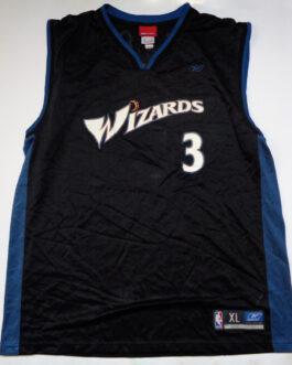 WASHINGTON WIZARDS NBA Basketball Jersey Shirt #3 DIXON Reebok XL Extra Large
