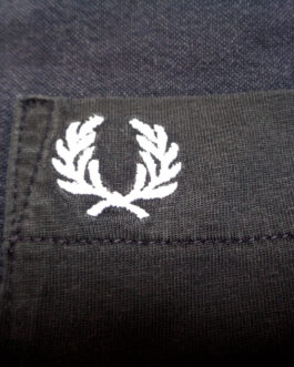 FRED PERRY T-Shirt Casual Classic Grey Size S Small