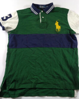 RALPH LAUREN Polo Shirt Casual Classic Green Size M Medium BIG PONY