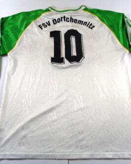 FSV DORFCHEMNITZ Vintage 90s Home L/S Football Shirt Extra Large White Puma #10