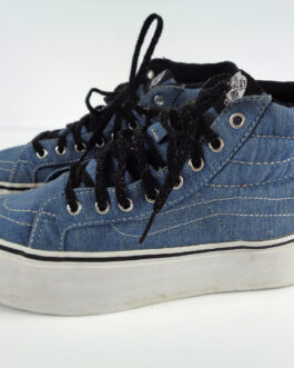 Rare VANS Sk8-Hi Platform Sneakers Blue with STUDS size US 6 Men – 7.5 Womens
