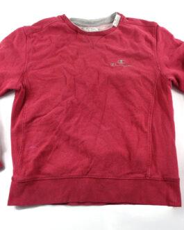 CHAMPION Sweatshirt Vintage Crewneck Casual Classic Red Size M Medium