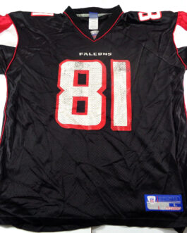 Atlanta Falcons NFL Shirt Reebok L Large Jersey #81 Peerless Price