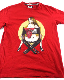 WEEKEND OFFENDER T-Shirt Casual Vintage Classic Red Size M Medium