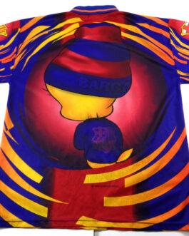 1998 FC BARCELONA Corner Rare Vintage Jersey Shirt Looney Tunes Tweety M Medium