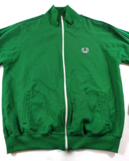FRED PERRY Tracksuit Vintage Track Jacket Casual Classic Green Size L Large