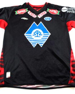 2004/05 MOLDE FK Away Football L/S Shirt XL Extra Large Black Umbro #12