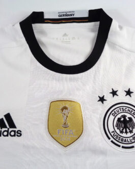 2016/17 GERMANY Home L/S Football Shirt XS Extra Small White Adidas CHAMPIONS