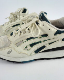 Asics A6-Gel X-TRA White Green US 8 UK 7 EUR 41.5 Sneakers