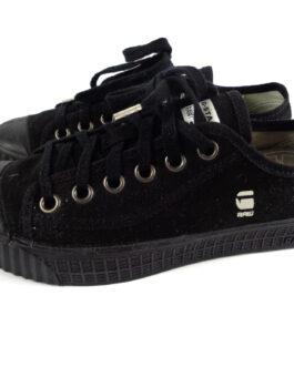G-Star Raw Rovulc HB Low Black US 7 UK 5 EUR 38 Sneakers