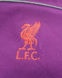 LIVERPOOL Tracksuit Track Jacket Football Shirt M Medium Maroon Red Official
