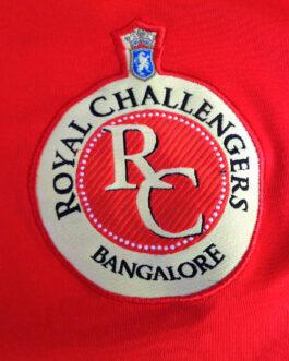ROYAL CHALLENGERS BANGALORE Cricket Shirt Jersey Size XL Extra Large Red Reebok
