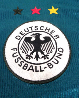 1998/00 GERMANY Away Football Shirt XL Extra Large Green Adidas