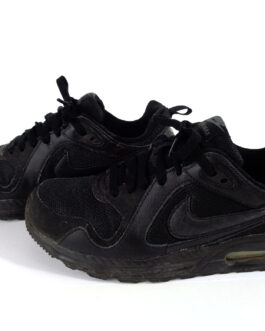 NIKE Air Max Trax 644453-009 US 7 UK 6 EU 40 Black Sneakers