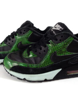 NIKE Air Max 90 Qs Air Max Cd0916-001n US 7.5 UK 6.5 EU 40.5 Green Python