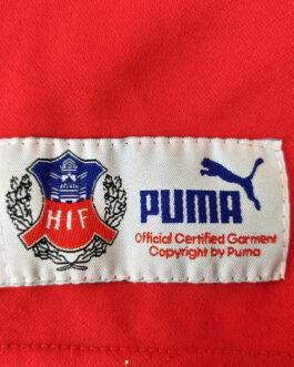 2002/03 HELSINGBORGS IF Home Football Shirt XL Extra Large Red Puma