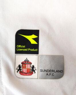 2004/05 SUNDERLAND Away Football Shirt M Medium White Diadora