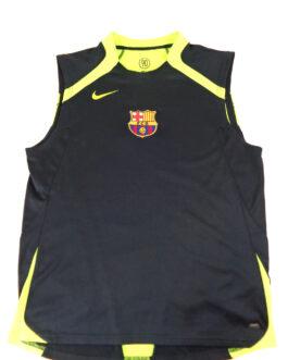 2006/07 FC BARCELONA FCB Training Vest Football Shirt M Medium Black Nike
