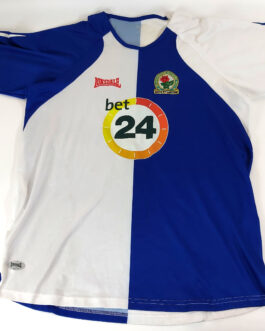 2006/07 BLACKBURN ROVERS Home Football Shirt L Large Lonsdale