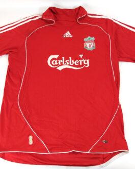 2006/08 LIVERPOOL FC Home Football Shirt XXL 2XL Red Adidas