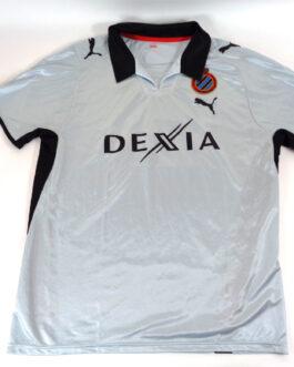 2008/09 CLUB BRUGGE Away Football Shirt L Large Blue Puma Belgium