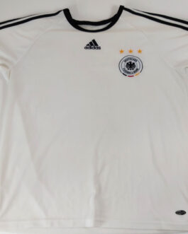 2009/10 GERMANY Home Football Shirt Jersey L Large White Adidas