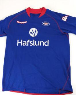 2009/10 VALERENGA OSLO Home Football Shirt L Large Blue Kappa