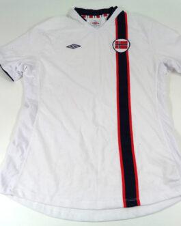 2012/13 NORWAY Away Women Football Shirt Jersey L Large White Umbro