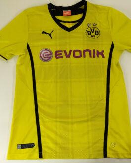 2013/14 BORUSSIA DORTMUND Home Football Shirt S Small Yellow Puma