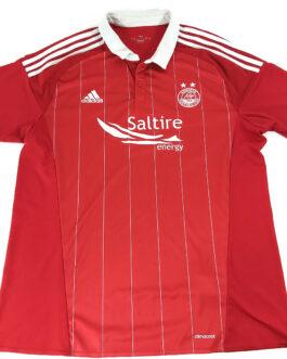 2016/17 ABERDEEN FC Home Football Shirt XL Extra Large Red Adidas