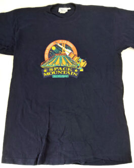 Paris Disneyland Space Mountain T-Shirt Mickey Mouse Disney Size S/M
