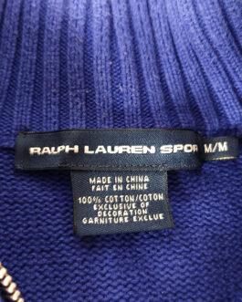 RALPH LAUREN Jumper Sweater Blouse Casual Classic Blue S Small