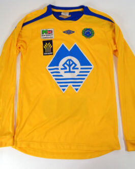 LANGEVAG IL Home L/S Football Shirt XS Extra Small 164 Yellow Umbro Norway #2