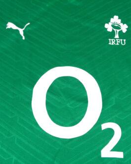 IRELAND IRFU RUGBY Puma Green Shirt Jersey Rugby Union Large