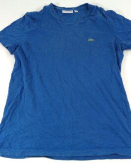 LACOSTE T-Shirt Casual Classic Blue Size M Medium