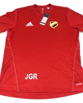 HIK Home Football Shirt L Large Red Adidas BNWT