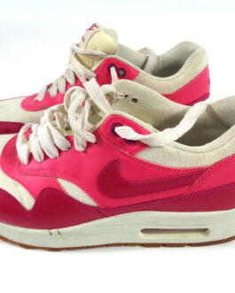 Women's NIKE Air Max 1 Vintage Pink UK 7 US 9.5 EUR 41 Sneakers 555284-104