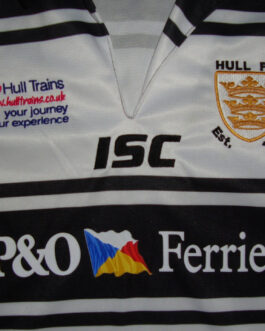 HULL FC Rugby Union Vintage Shirt Jersey 14years Size ISC