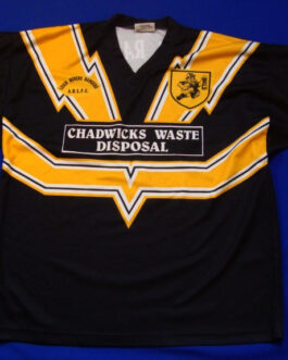 LEIGH MINERS RANGERS Amateur Rugby Union Shirt Jersey XL Extra Large Stag #5